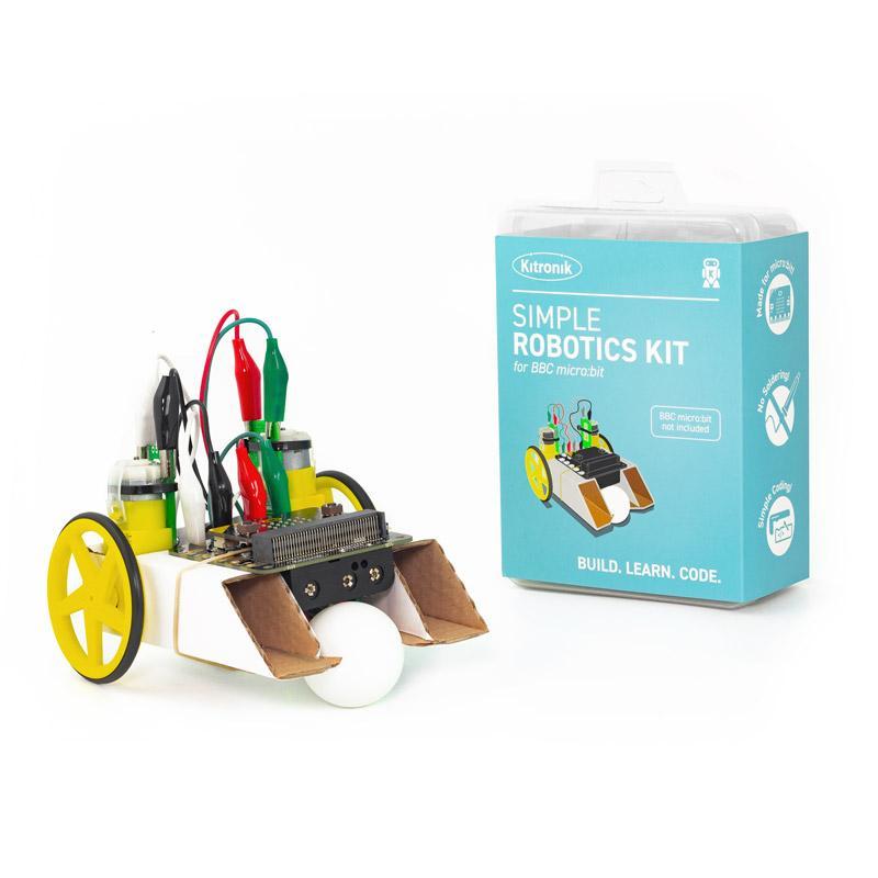 Kitronik Simple Robotics Kit for the BBC micro:bit - Single Pack