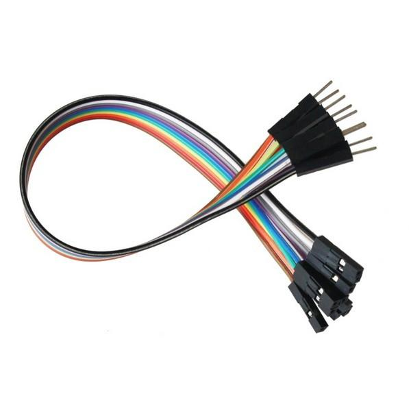 Jumper Wires 20cm M/F, pack of 40