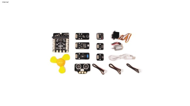 A product image for BitGadget Kit – Grove creator kit for micro:bit