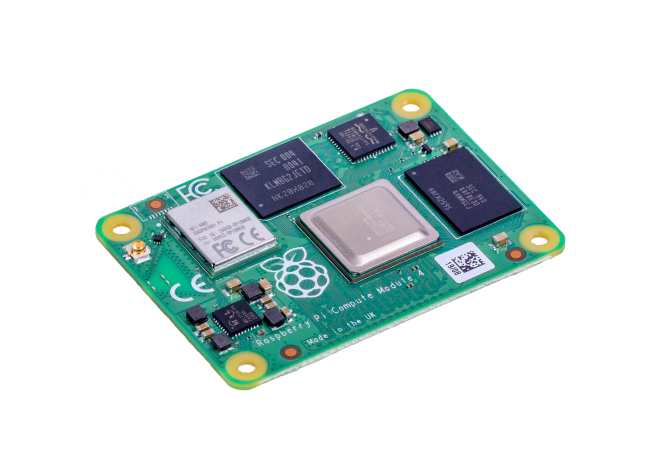 A product image for Raspberry Pi Compute Module 4 with WiFi 1GB RAM 32GB Flash