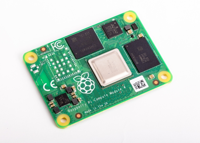 A product image for Raspberry Pi Compute Module 4 1GB RAM 8GB Flash