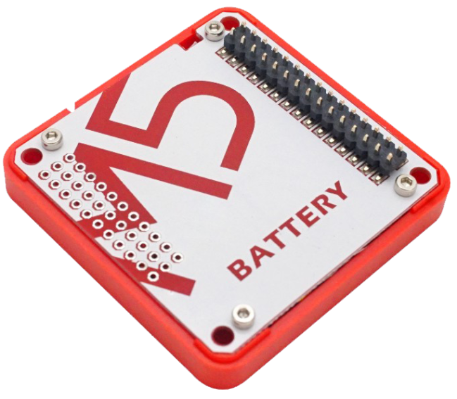 A product image for Battery Module for ESP32 Core Development Kit