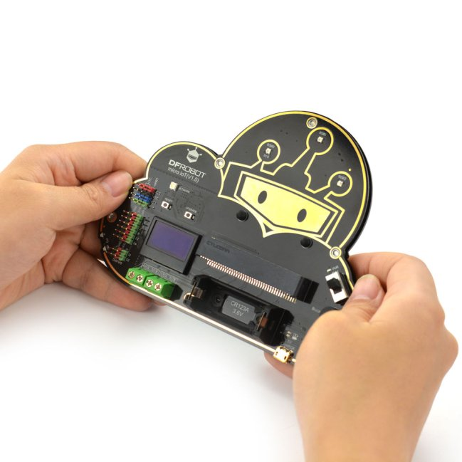 A product image for micro: IoT – micro:bit IoT Expansion Board