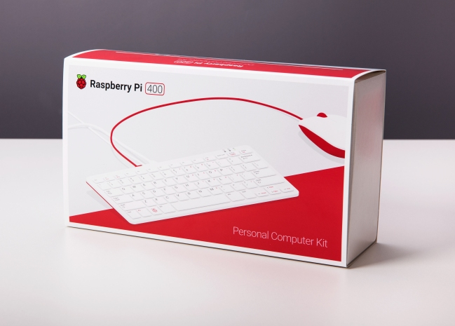 A product image for Raspberry Pi 400 All-in-One Personal Computer Kit – EU Keyboard Layout
