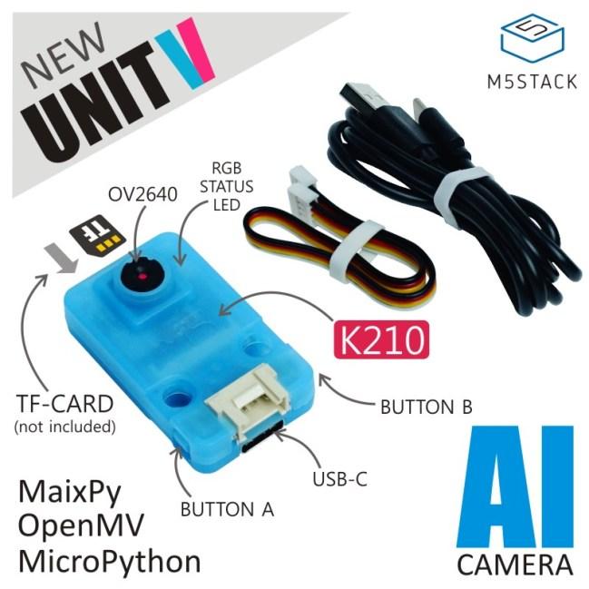A product image for UnitV AI Camera