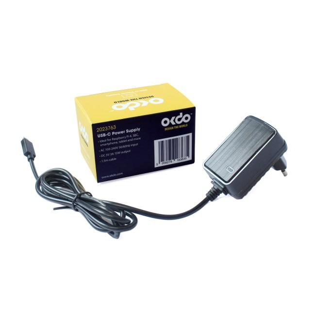 A product image for OKdo Fixed Head PSU – European Plug