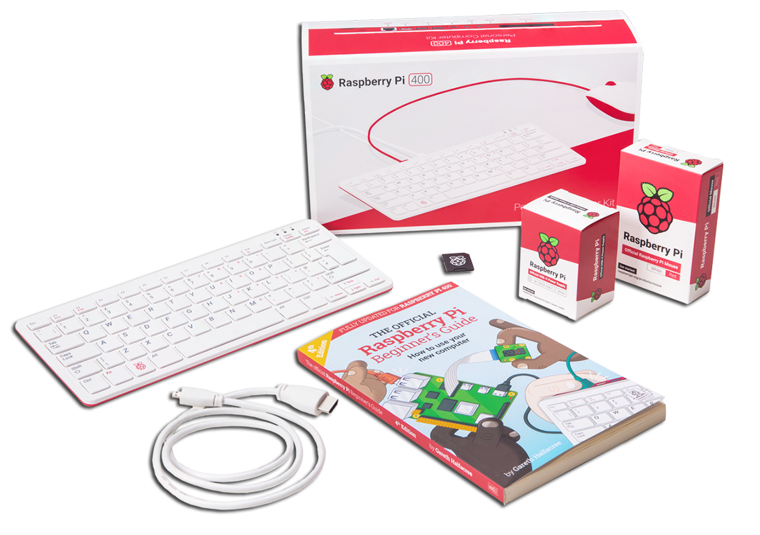 Raspberry Pi 400 All-in-One Personal Computer Kit – EU Keyboard Layout