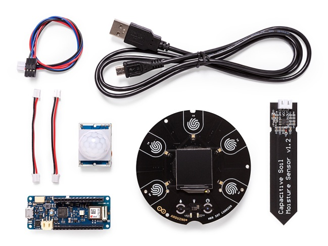 A product image for Arduino Explore IoT Kit