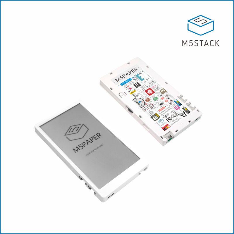 "M5Paper ESP32 Development Kit (960X540, 4.7"" eInk display, 235 ppi)"