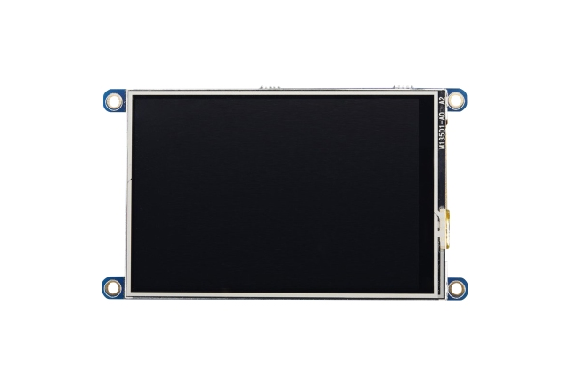 A product image for PiTFT Plus 3.5 Raspberry Pi Touchscreen