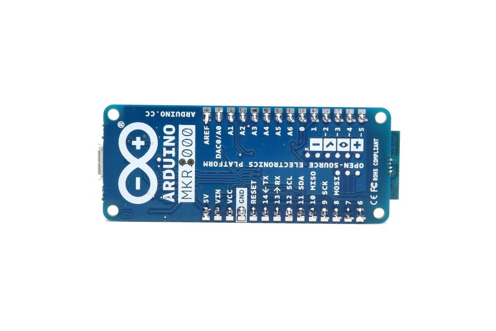 Arduino MKR1000 con header