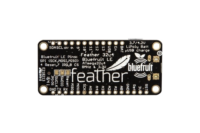 Adafruit Feather ATmega32u4 Bluefruit LE