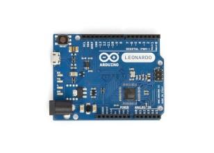 Arduino Leonardo con header