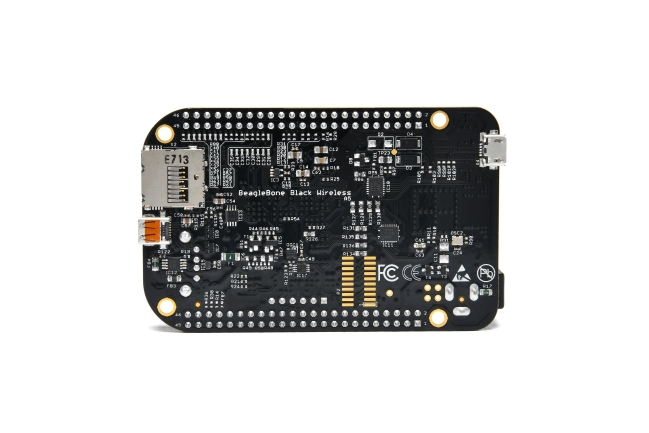 A product image for BeagleBoard.org® BeagleBone® Wireless Nero