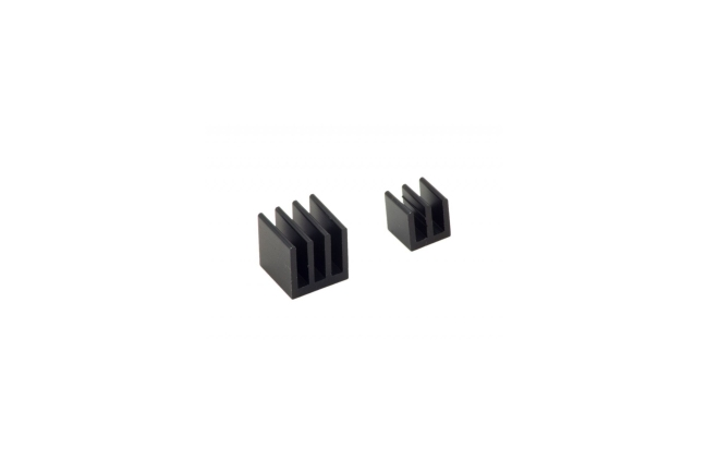 A product image for Kit dissipatore di calore Raspberry Pi – Nero