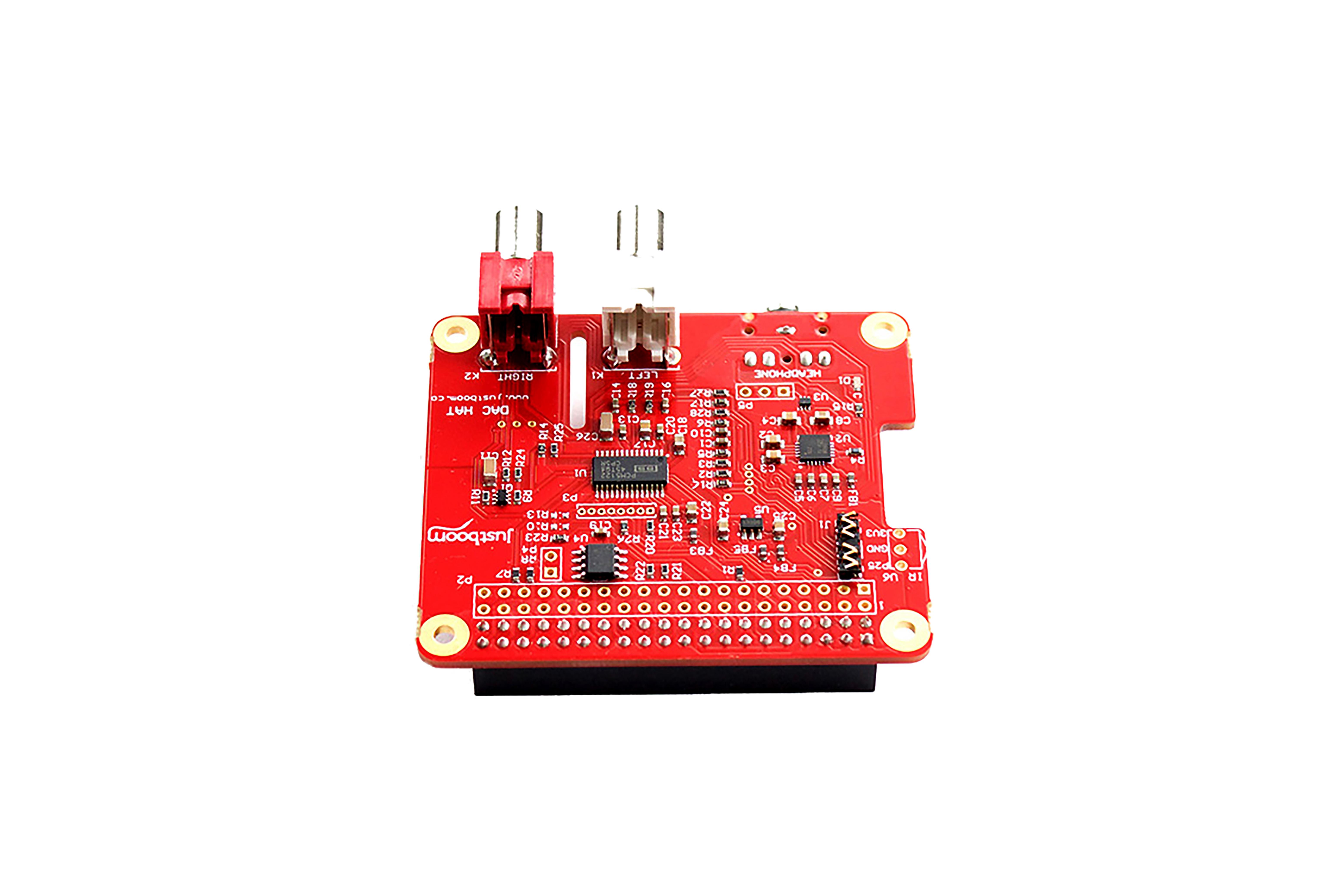 JustBoom DAC HAT per Raspberry Pi