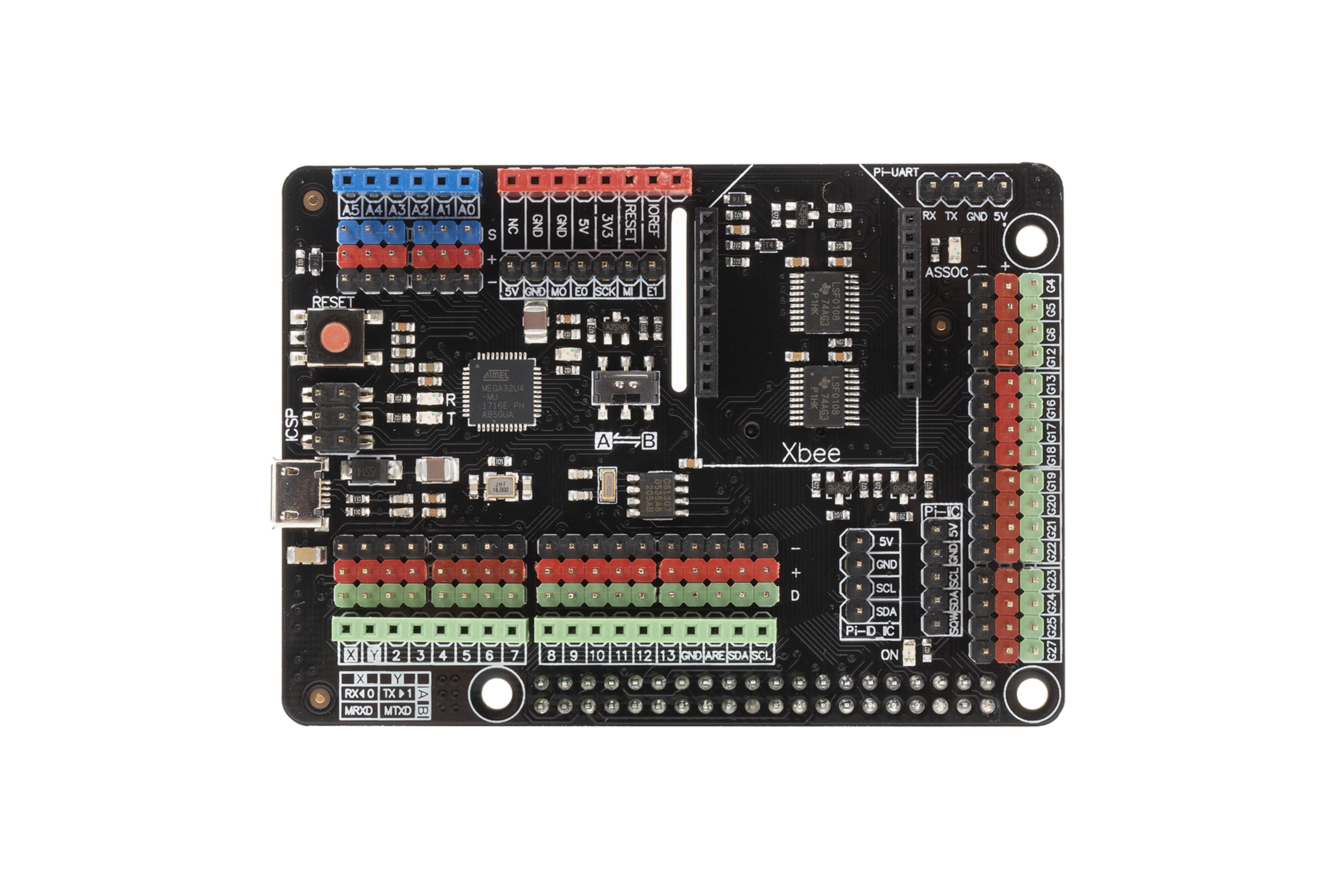 Scudo Arduino per Raspberry PiB+/2B/3B