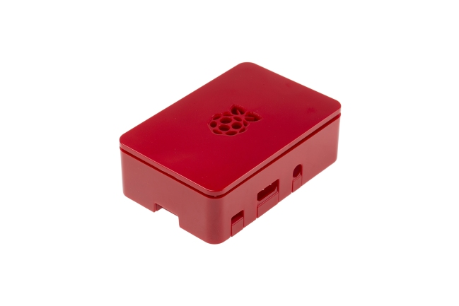 A product image for Raspberry Pi 3 Case esterno, Rosso