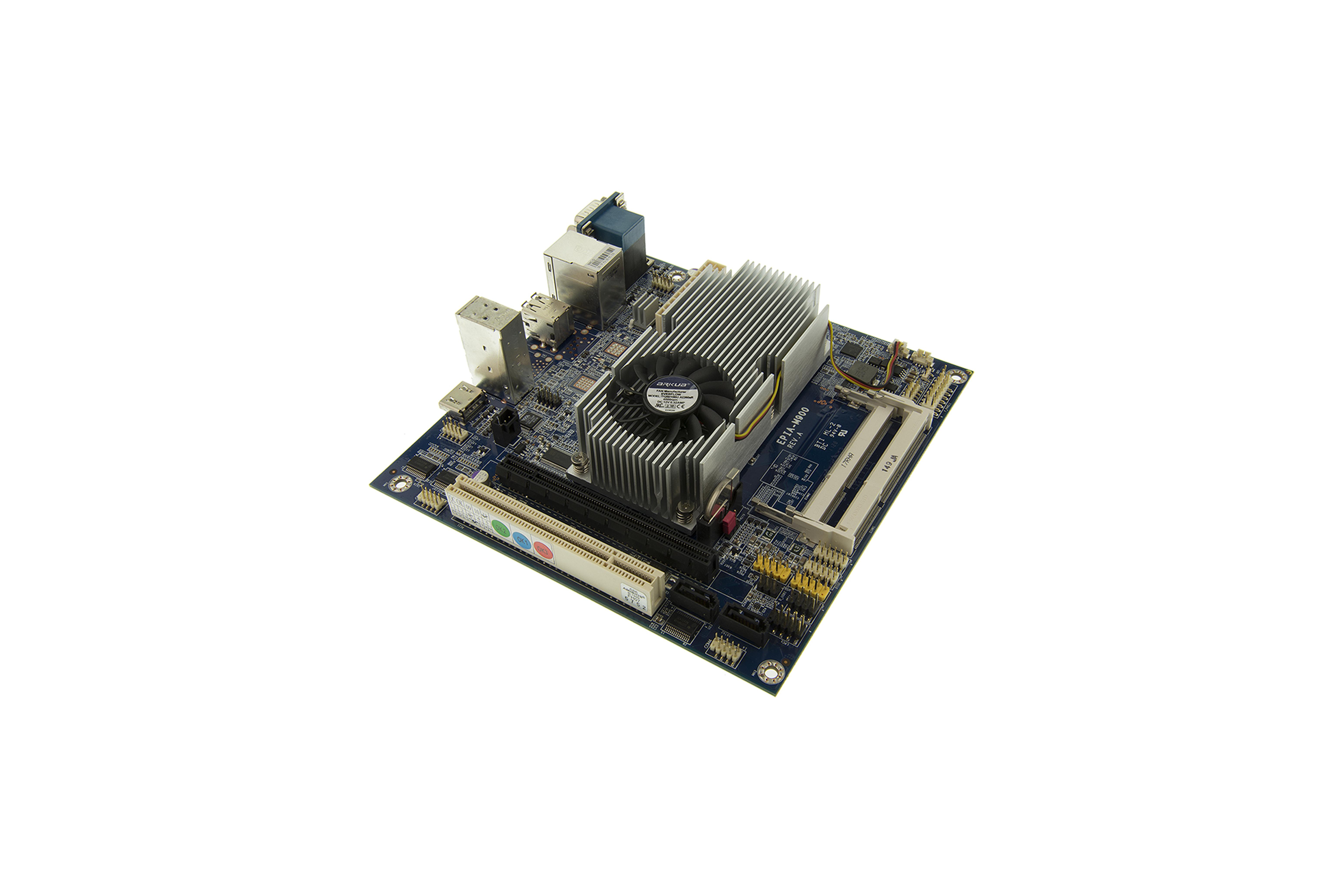 MINI-ITX 1.6 GHZ VIA NANO X2 DUALCORE HD