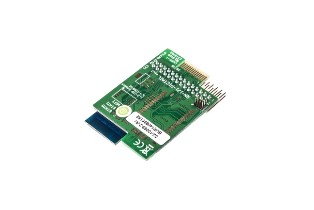 A product image for Scheda di espansionePICtail WiFi, antenna chip