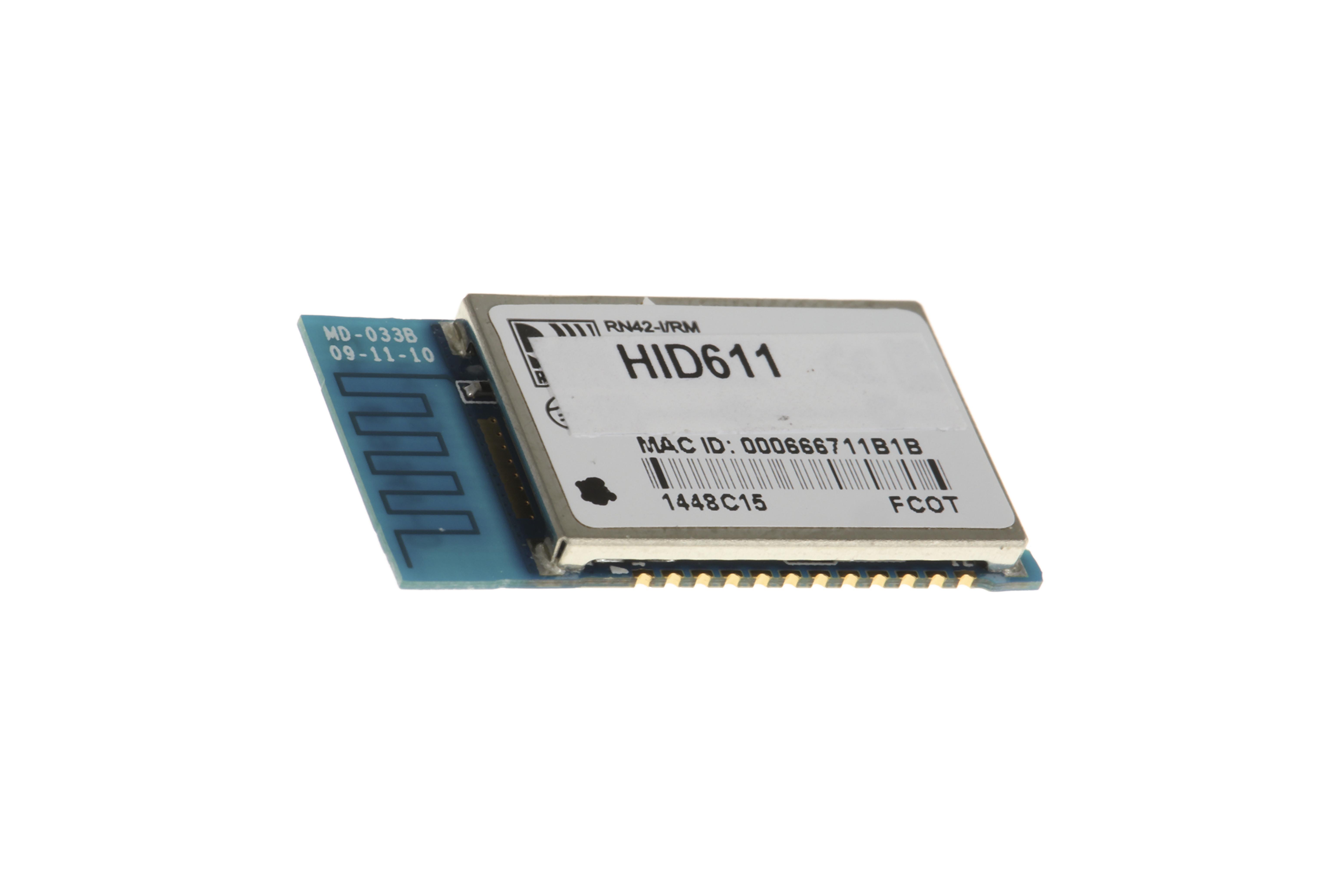 Modulo Bluetooth Classe 2, v2.1, 4dBm