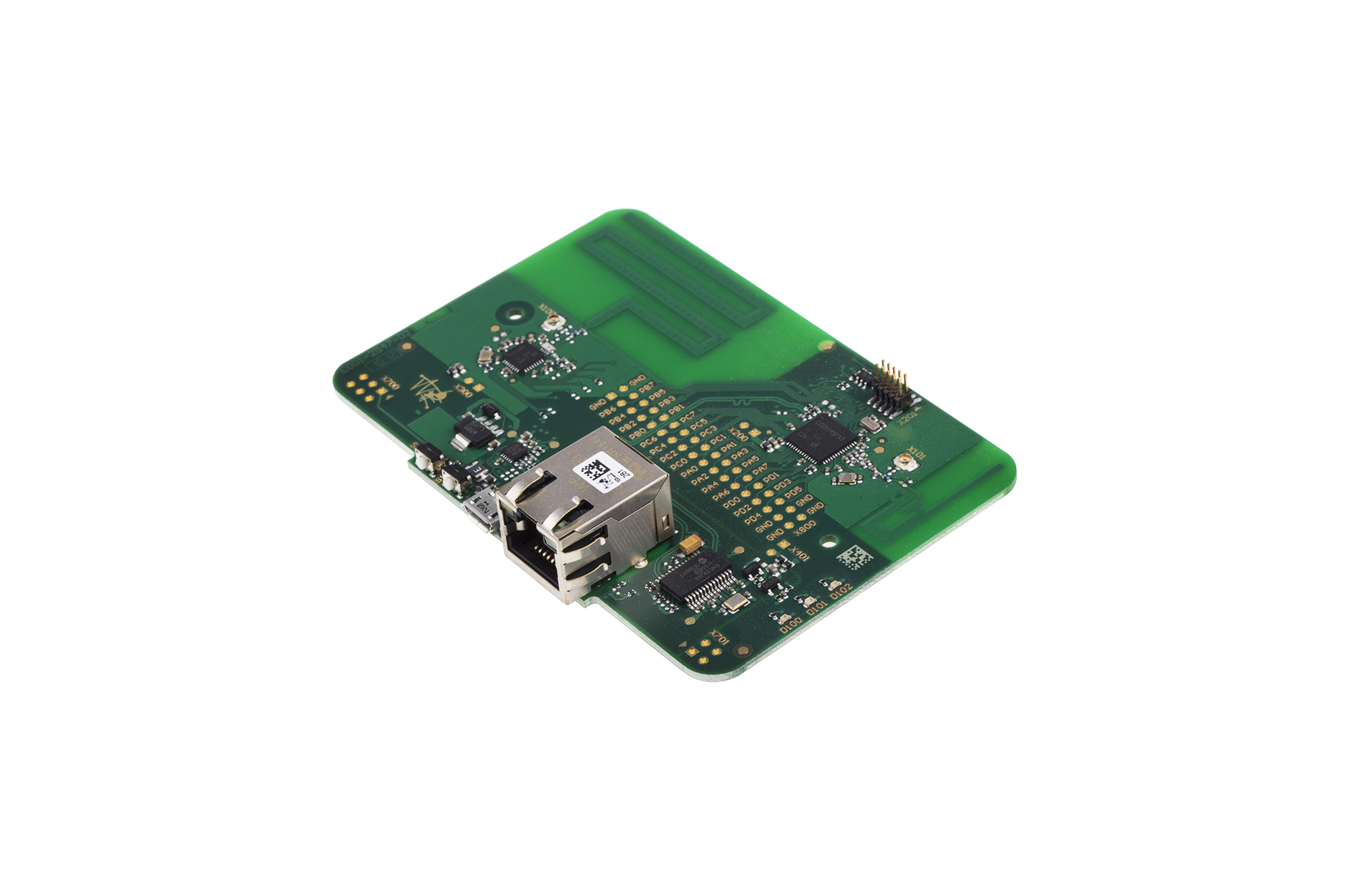 Gateway nudo Weptech WEP-6LoWPAN-IoT-GW