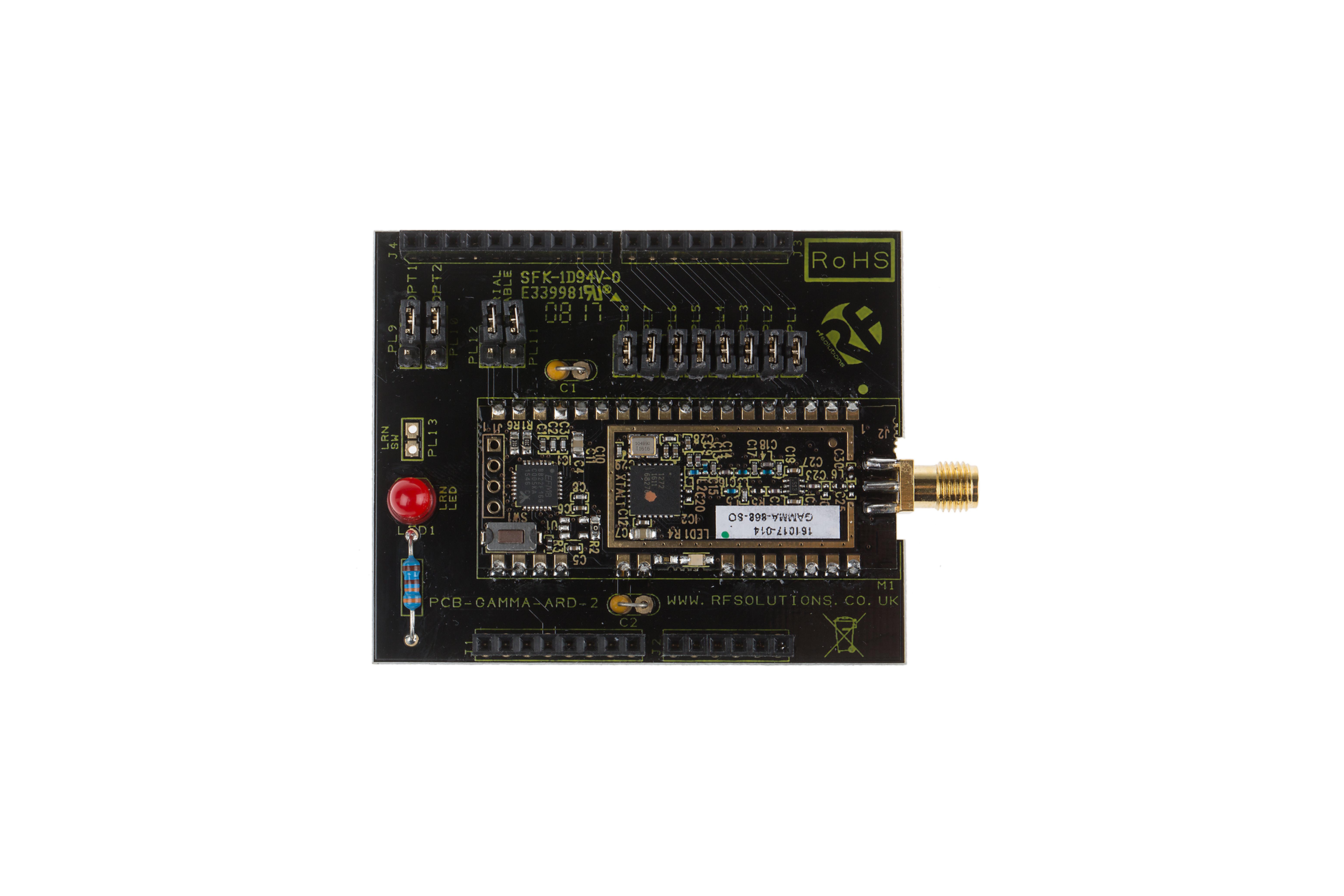 Scudo Arduino perModulo RFGAMMA LORA