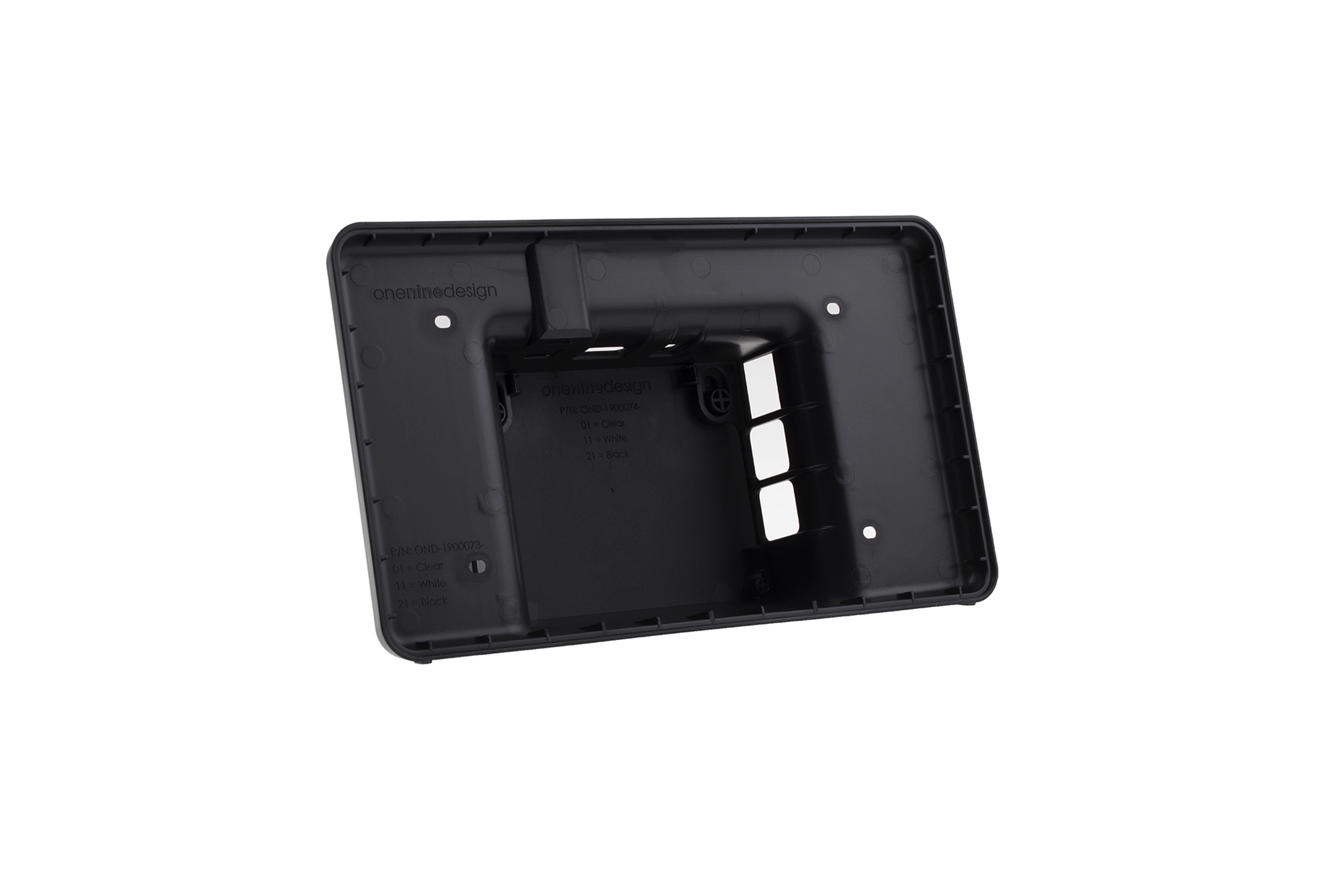 Raspberry Pi Case touchscreen- Nero
