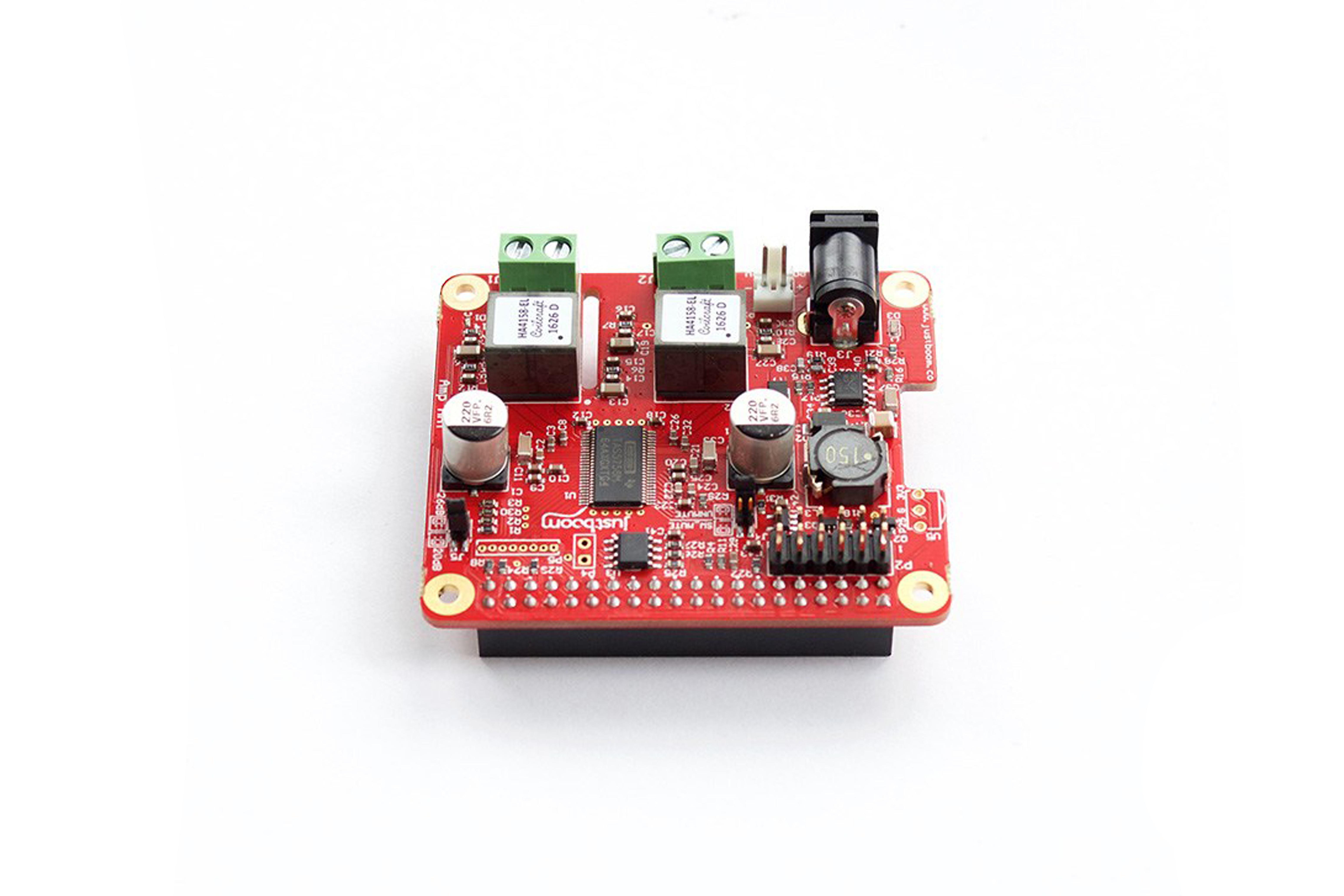 JustBoom Amp HAT per Raspberry Pi