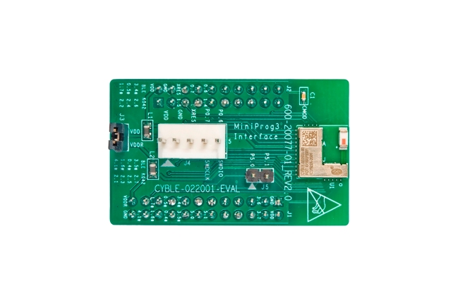 A product image for SCHEDA VALUTAZIONE BLE PROC CYBLE-022001