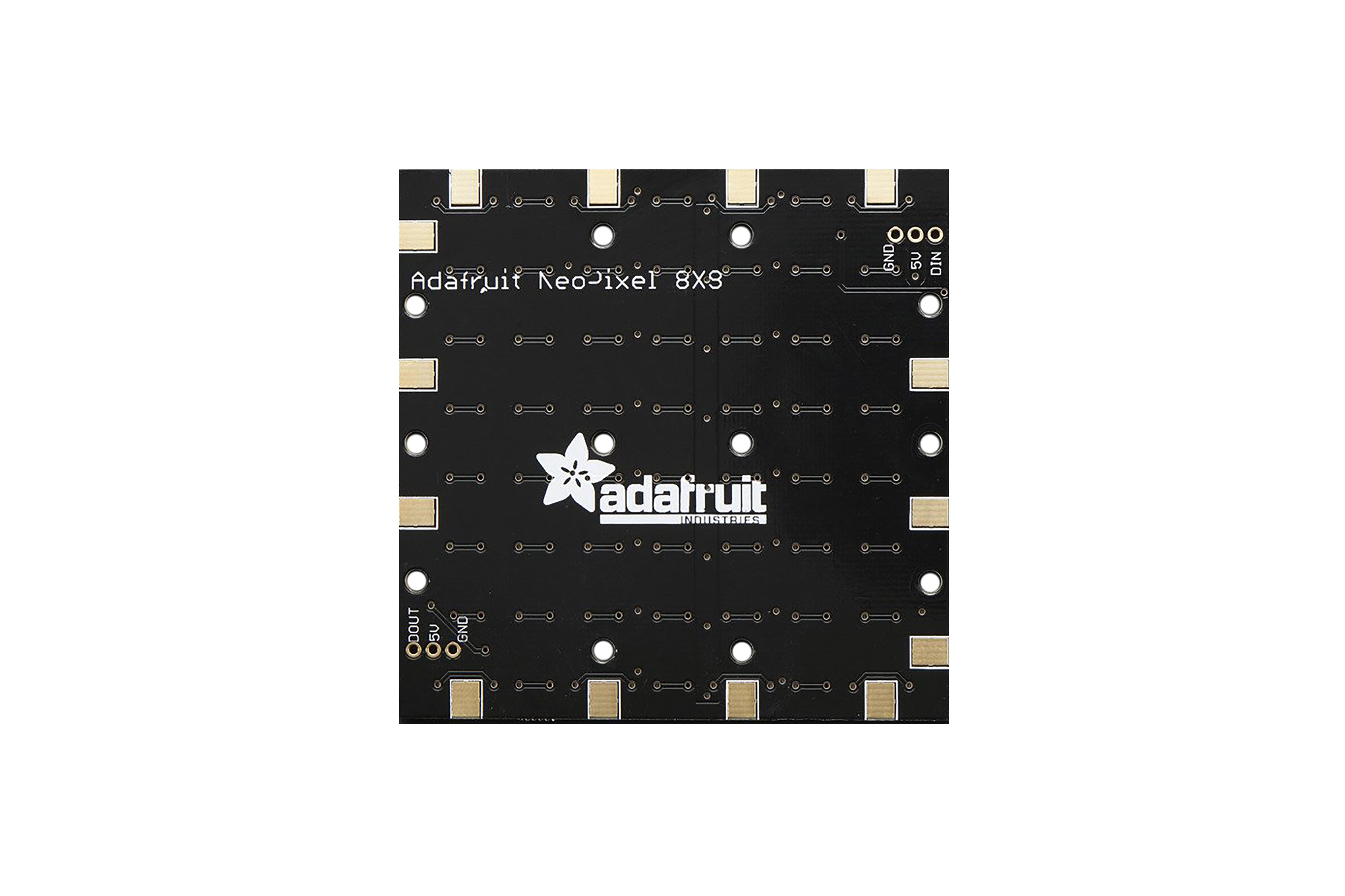 NEOPIXEL NEOMATRIX 64 RGBW LED 6000K