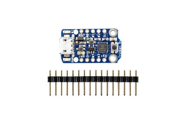 A product image for Adafruit Trinket – Mini Micro 5V