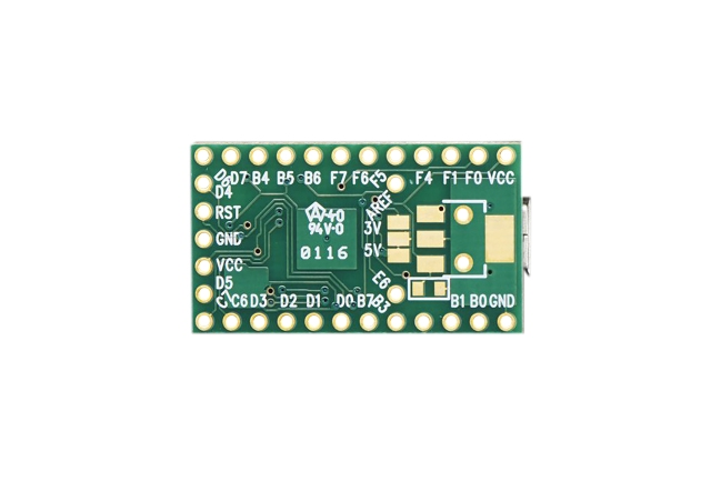 A product image for Teensy 2.0 – Scheda di sviluppo USB ATmega32u4
