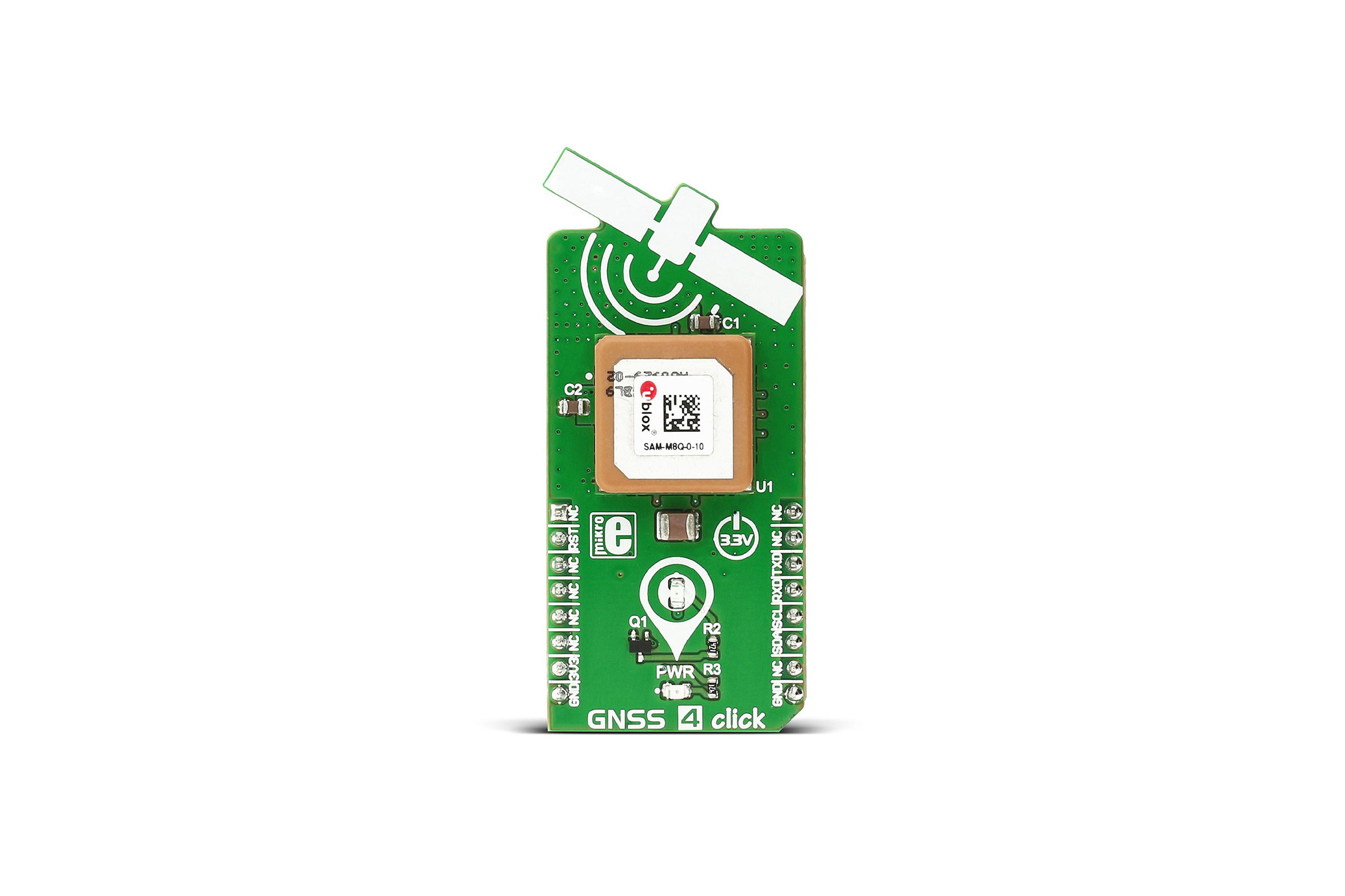 SCHEDA GNSS 4 CLICK GPS/GLONASS