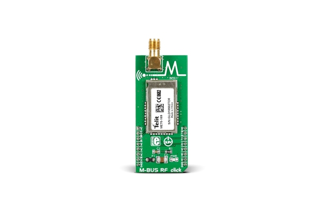 A product image for SCHEDA M-BUS RF CLIC 169MHZ, MIKROE-2048