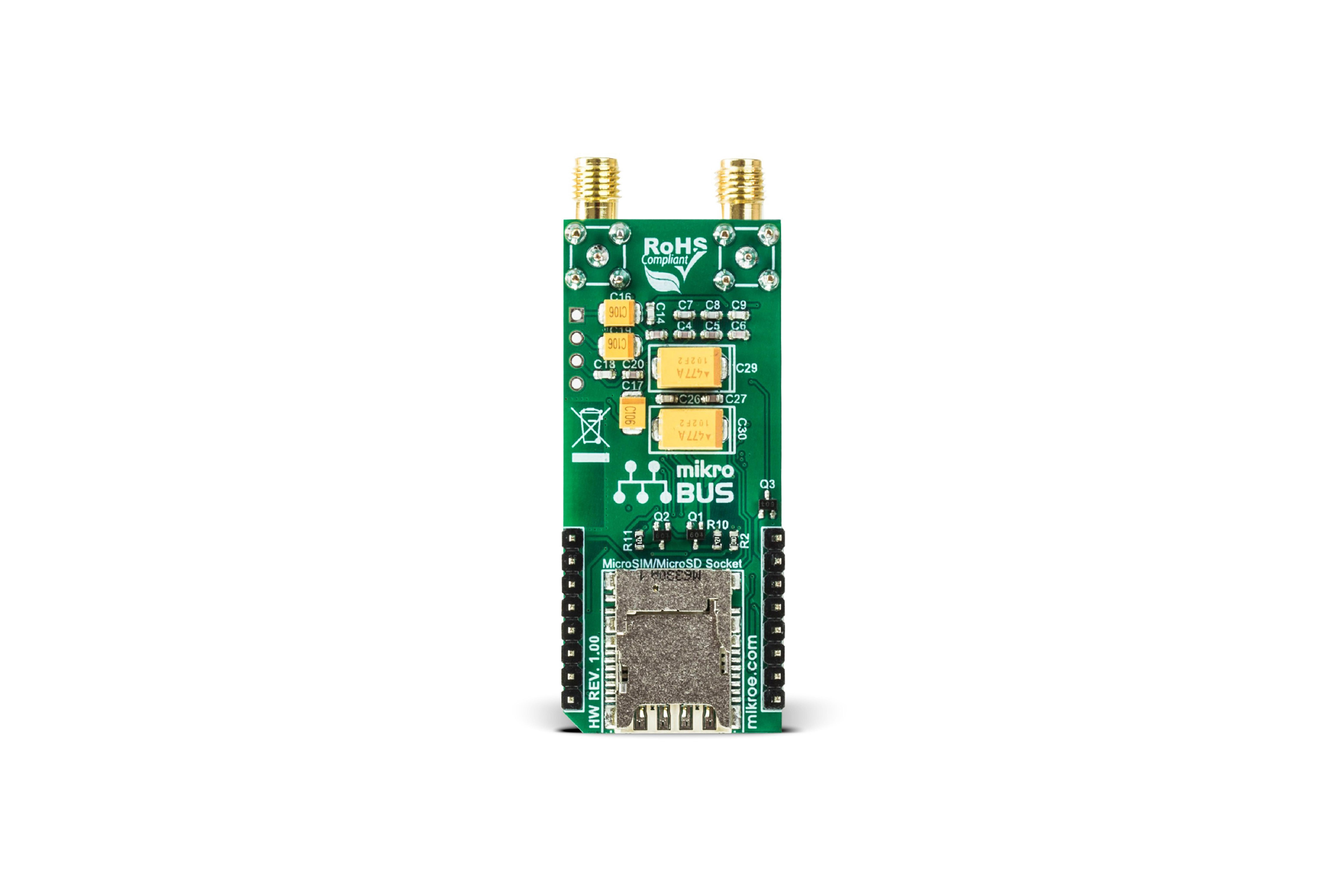 CLICK BOARD MIKROE GSM/GNSS, MIKROE-2439