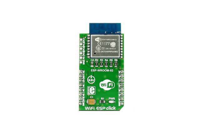 A product image for Click Board WiFi ESP