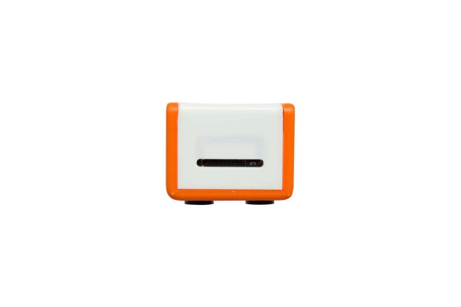 A product image for CASE FLICK ZERO – ARANCIO/BIANCO