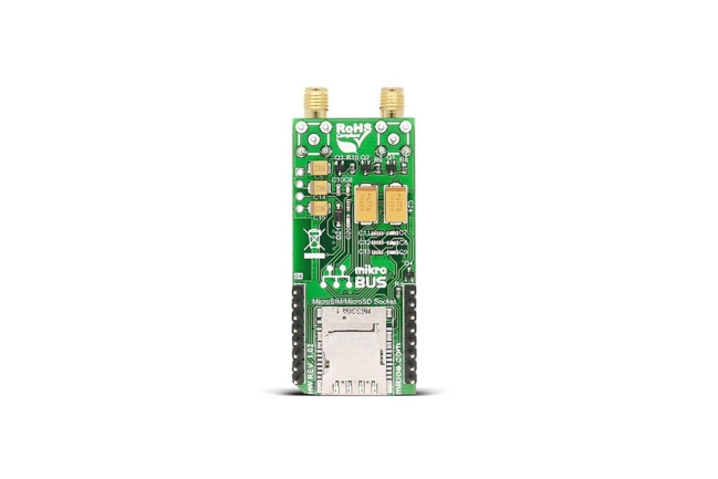 A product image for CLICK BOARD GSM/GNSS 2, MIKROE-2440