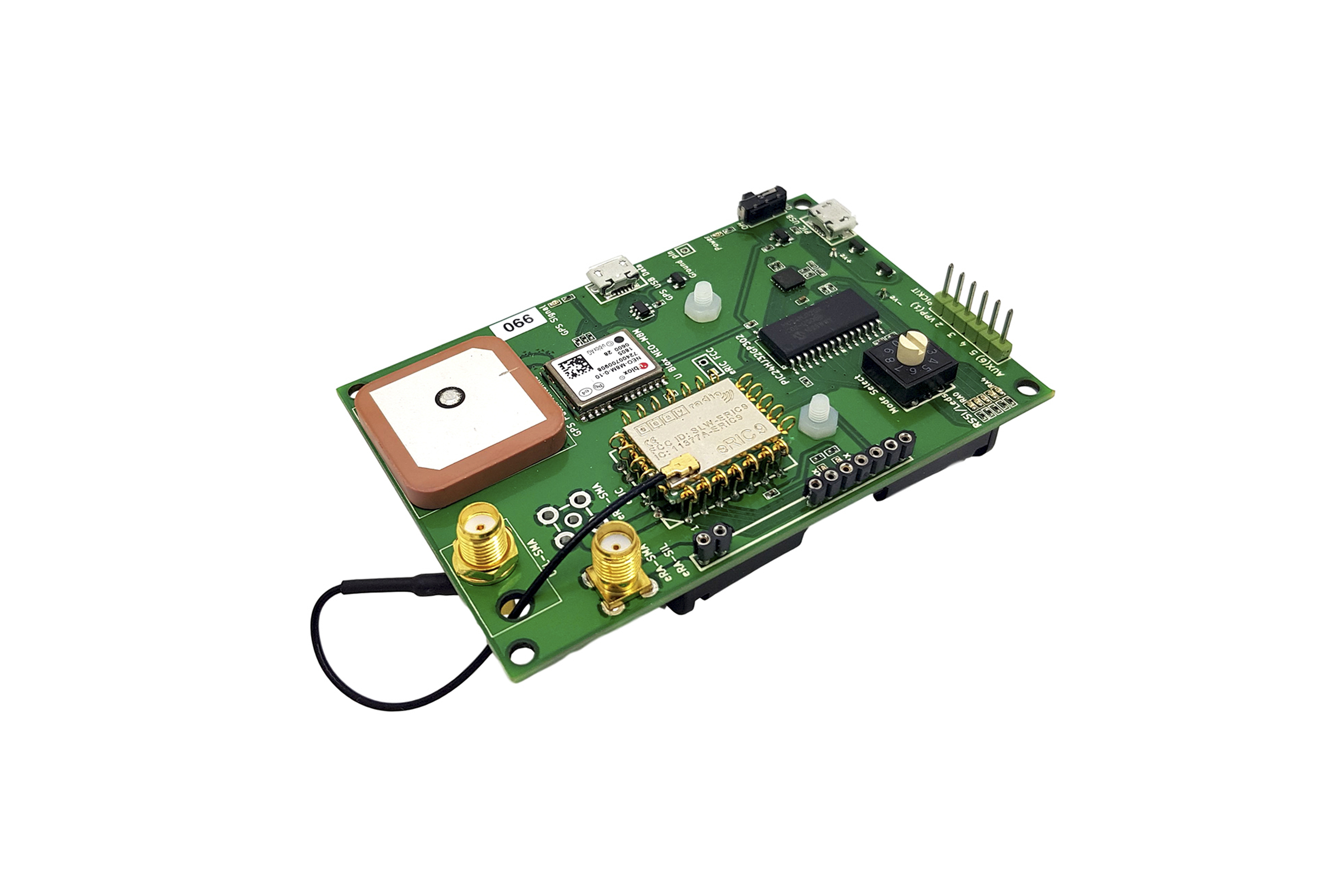 Kit di sviluppo eRIC4/9/LoRainc GPS