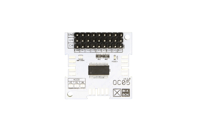 A product image for Xinabox Oc05 – Servo Driver (Pca9685 & Bu33Sd5)