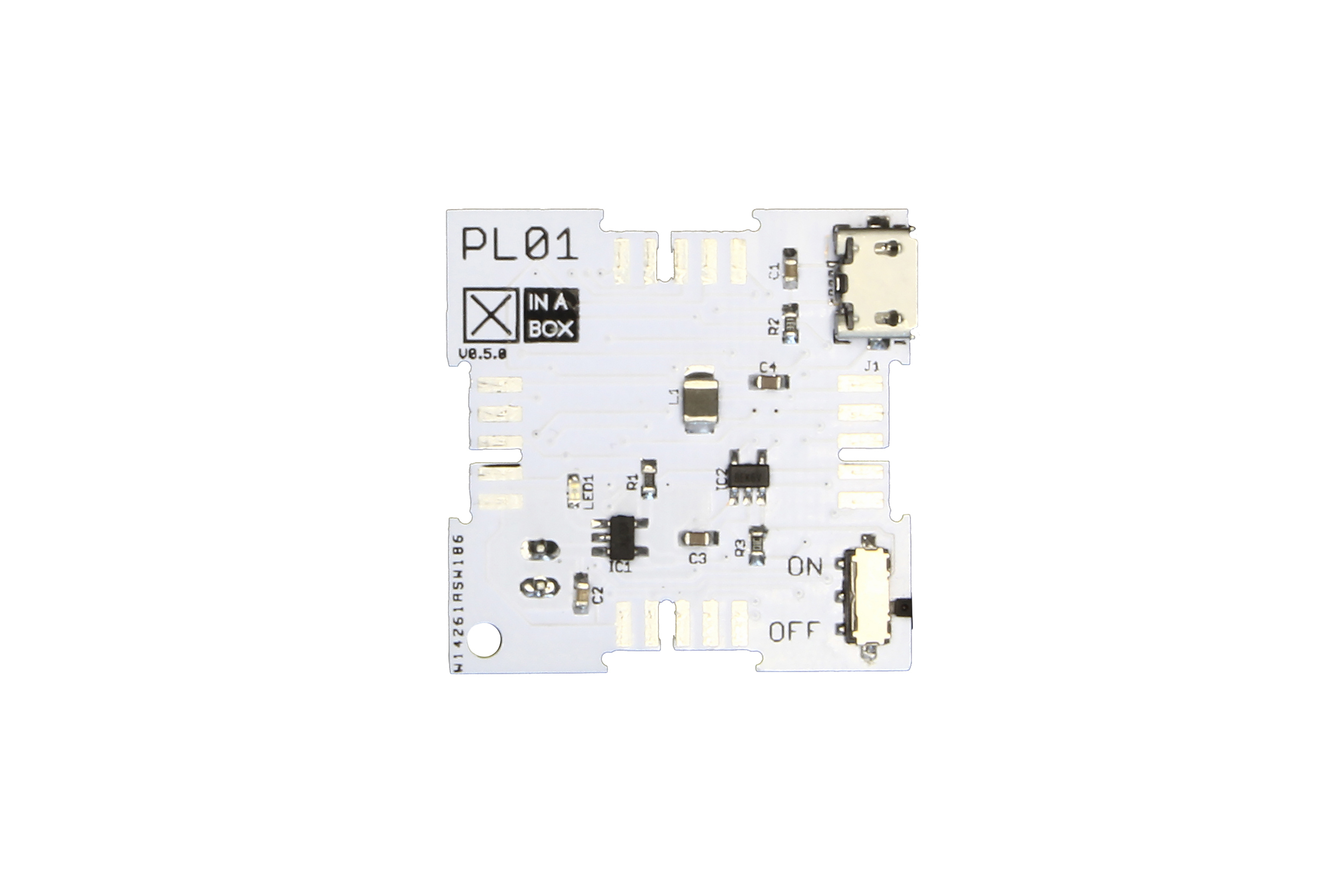 Cavo di alimentazione batteria MCP73831 e PAM2305