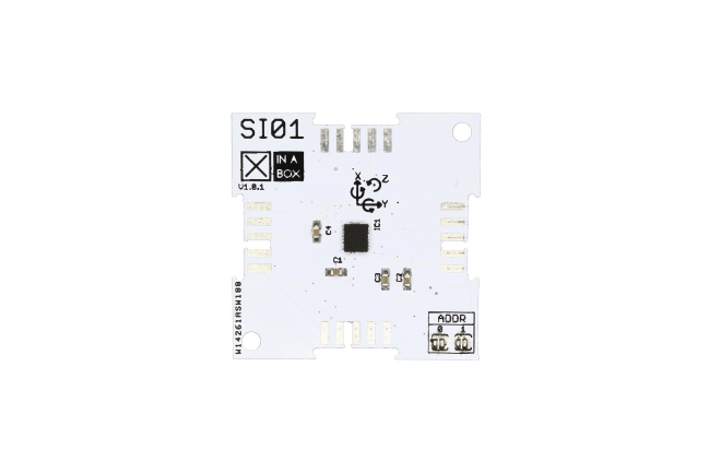 A product image for XinaBox SI01, modulo IMU 9DoF per LSM9DS1