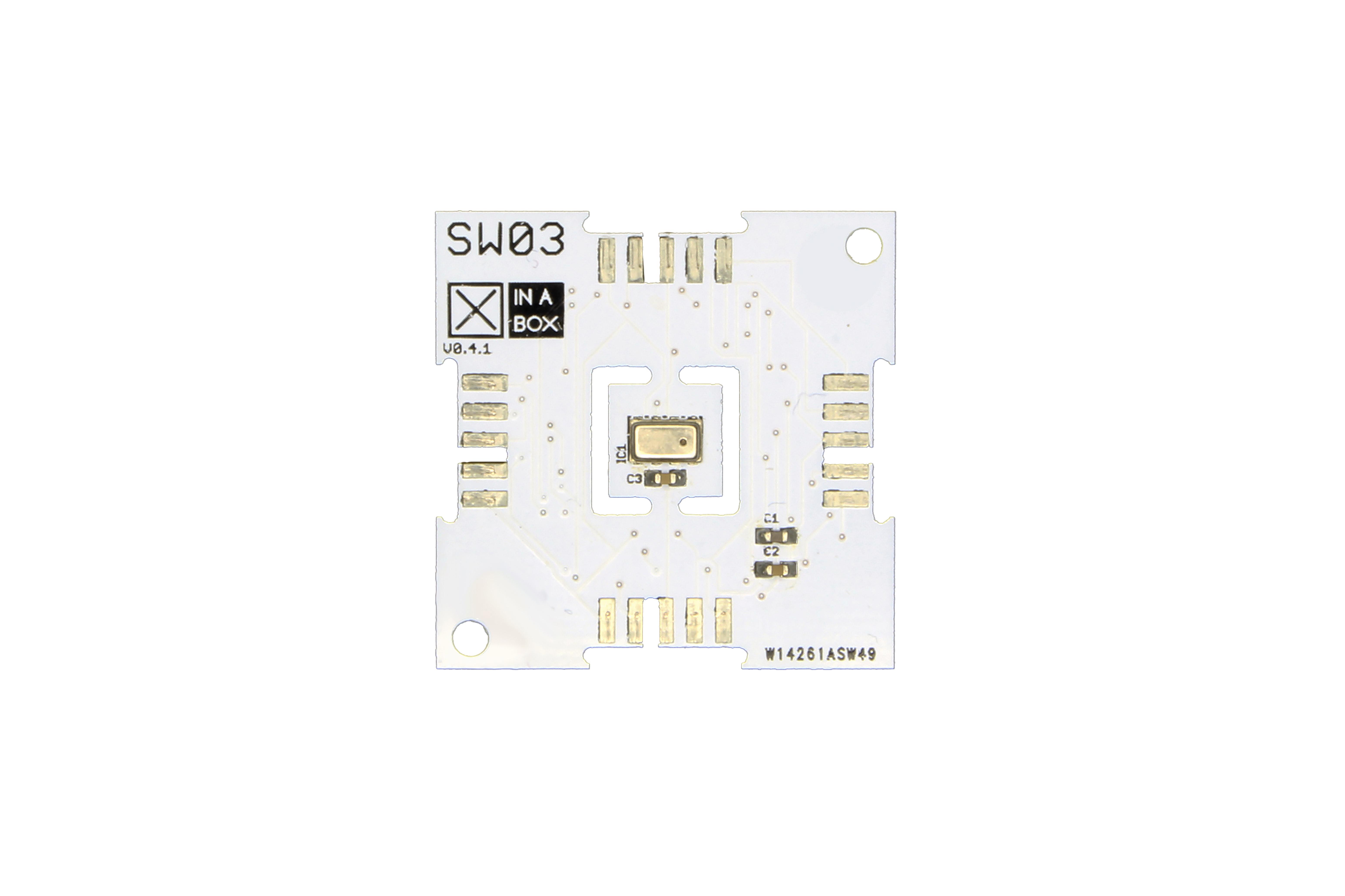 XinaBox SW03, modulo sensore meteo per MPL3115A2