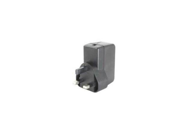 A product image for PSU TESTA FISSA UK 5.1 V 2.5A NERO