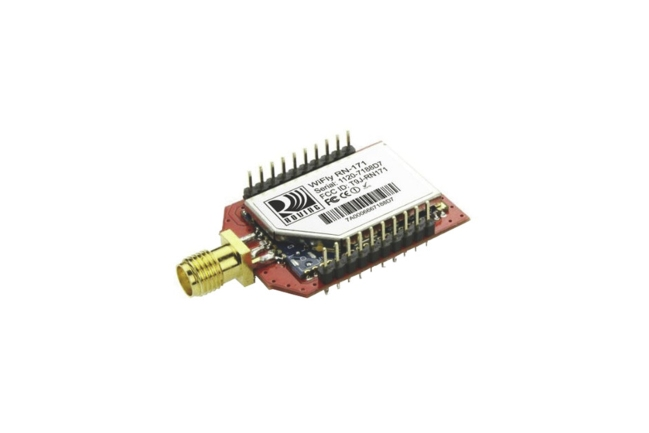 A product image for Modulo WiFi Microchip RN171XVS-I/RM