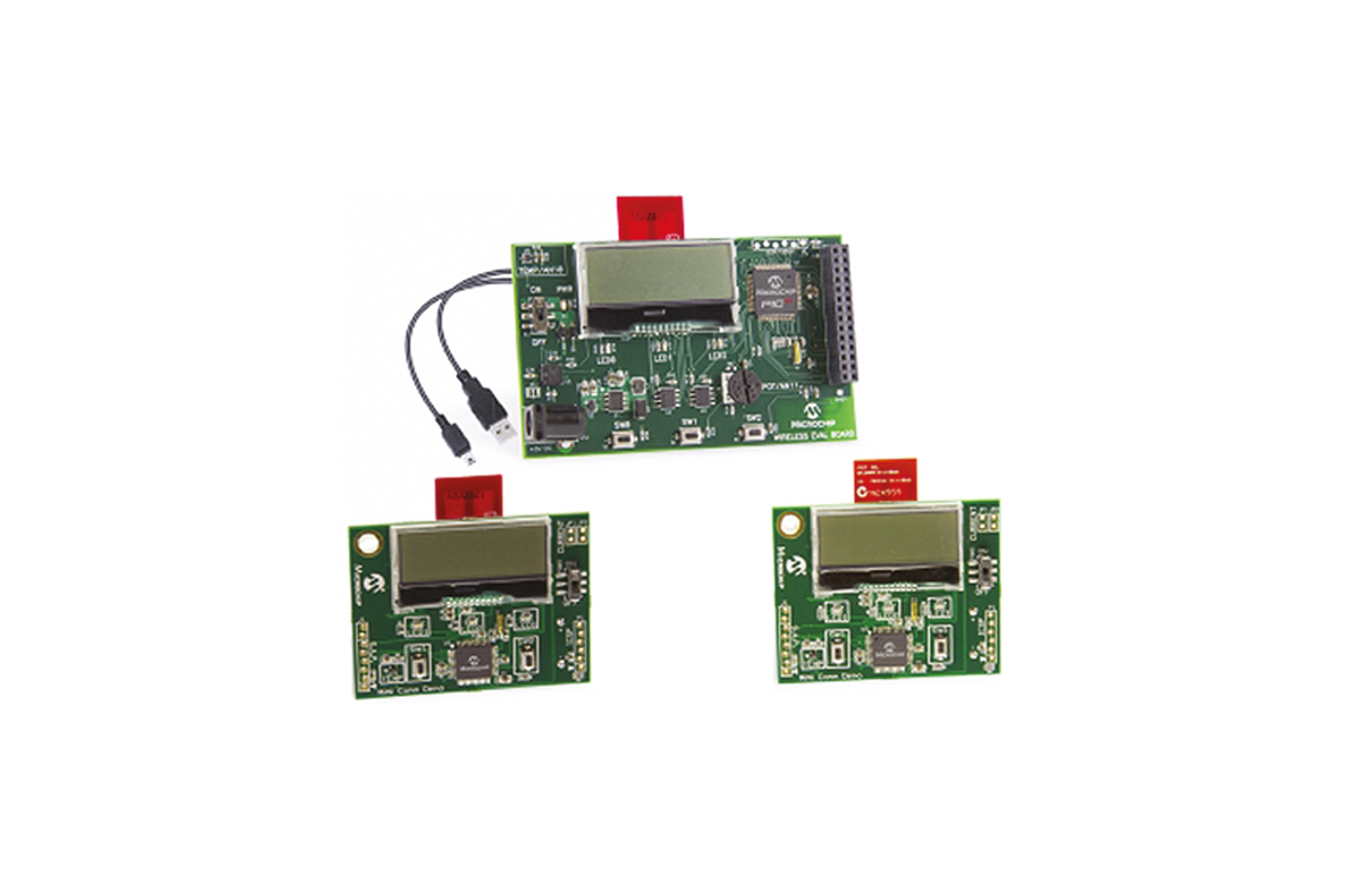 Kit dimostrativo Microchip MiWi / WiFi 2.4GHz per MRF24J/W