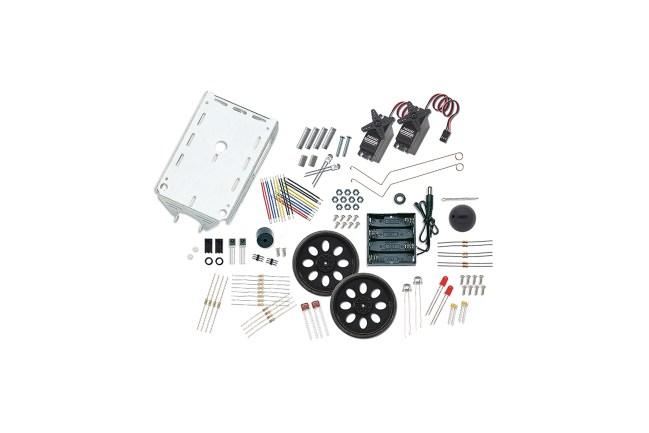 A product image for TELAIO ROBOT BOE-BOT E KIT SENSORE