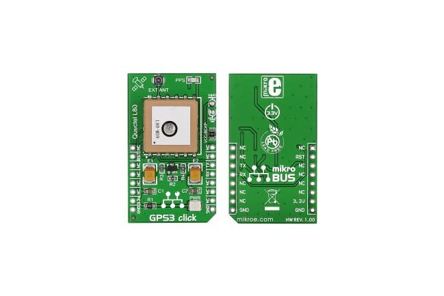 A product image for MikroElektronika GPS3 mikroBus Click Board per L80 GPS