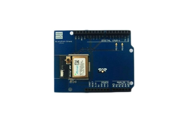 A product image for Modulo PCB scudo Arduino 6LowPAN 2,4 GHz